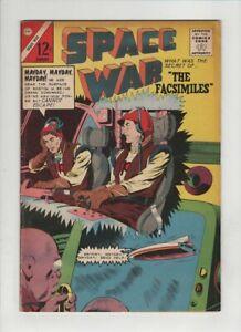 "SPACE WAR #26 Fine, ""The Facsimiles"", ""The Primitives"", Charlton 1964"