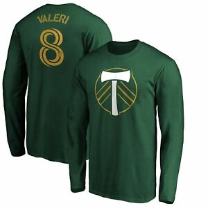 Diego Valeri Portland Timbers Fanatics Branded Authentic Stack Player Name &