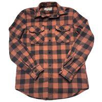 Vintage Ralph Lauren Denim Supply Buffalo Plaid Flannel Shirt Small Polo