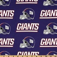 MadieBs Custom NFL NY Giants Cotton Fitted Boutique Crib Sheet