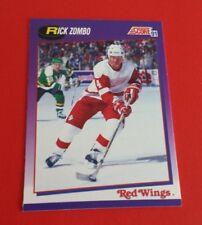 1991/92 Score Hockey Rick Zombo Card #177***Detroit Red Wings***