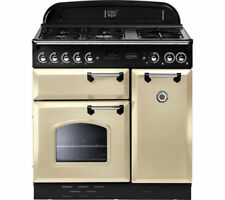Rangemaster Classic 90 Dual Fuel 90cm Range Cooker - Cream/Chrome