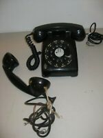 VTG Western Electric Bell R-11-64 Rotary Dial Telephone & Bell Systems Handset