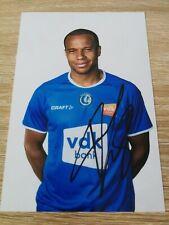 Vadis Odjidja KAA Gent- Signature Originale Photo 2019/2020 Football