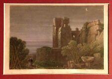 ANDALUCÍA,Granada,Tower of the seven vaults, D. Roberts, grabado original, 1837