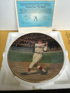 1993 Jimmy Foxx The Beast Plate A Delphi Original Hand Numbered