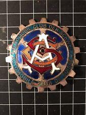 Automobil Club Der Schweiz - Automobil Club de Suisse Car Badge