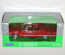 Welly - 1963 CHEVROLET IMPALA (Red - Cabriolet) - Die Cast Model Scale 1:24