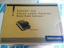 TEKTRONIX PHASER 750 NERO + CIANO STAMPANTE LASER A COLORI CARTUCCIA TONER Hi-Capacity