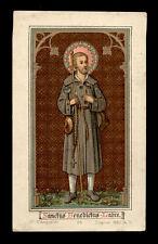 antico santino cromo-holy card S.GIUSEPPE BENEDETTO LABRE'