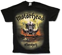 Motorhead Aftershock Everything Louder Black T-Shirt New Official Band Merch
