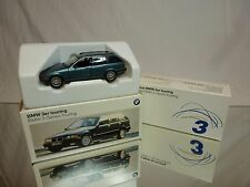 SCHUCO BMW 3 SERIES TOURING E36 - METALLIC BLUE 1:43 - EXCELLENT IN DEALER BOX