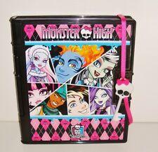 Monster High Mattel 2009 journal secret  des horreurs sonore (20x17cm)
