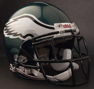 LeSEAN McCOY Edition PHILADELPHIA EAGLES Riddell AUTHENTIC Football Helmet