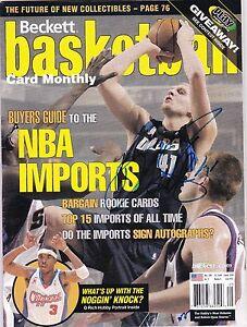 Dirk Nowitzki Autographed Beckett Dallas Mavericks