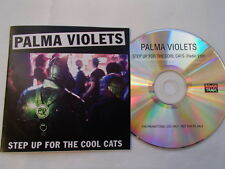 PALMA VIOLETS - STEP UP FOR THE COOL CATS - RARE PROMO CD