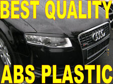 AUDI A4 B7 2004-2007  eyebrows headlights spoiler , genuine ABS plastic NEW