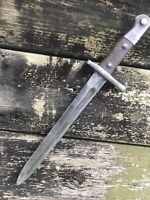 1887 Turkish Bayonet Converted To 1935 Pattern. Fits WWII Turkish Mauser