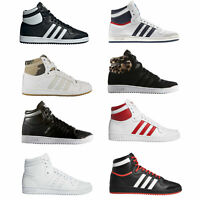 Adidas Originals Top Ten Hi High Sneaker da Donna Scarpe Ginnastica con Lacci