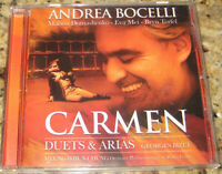 Carmen: Duets and Arias [B&N Exclusive] (CD, 2010, Decca) ANDREA BOCELLI