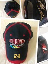 New Vtg DUPONT #24 NASCAR PIT HAT