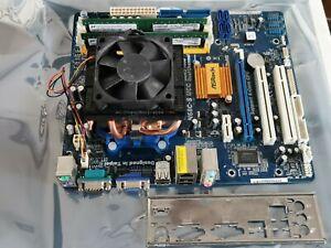 ASRock N68C-S UCC AMD Phenom II X2 555 Copper Pipe Heatsink Fan + Backplate +2GB