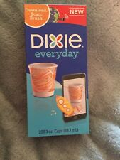 Dixie Everyday paper Cups 200- 3oz Solar System Planet Earth Saturn Mars Theme