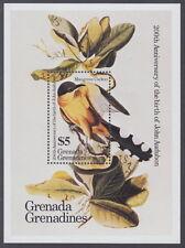 GRENADINES - 1985 Birth Bicentenary of John J Audubon MS - UM / MNH