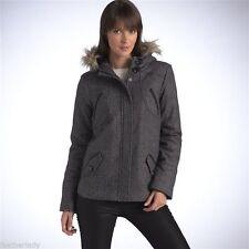 Woolen Single Breasted Outdoor Coats & Jackets for Women