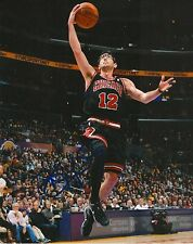 KIRK HINRICH signed CHICAGO BULLS 8X10 PHOTO COA