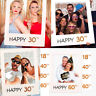 Photo Frame Paper Anniversary Cutouts Booth Props DIY Party  Decor Creative