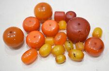 Beads African Copal Amber Mixed Bag 14-36mm