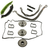 FOR MERCEDES M271 W204 C180 C200 C250 Turbocharged TIMING CHAIN KIT CAM GEARS