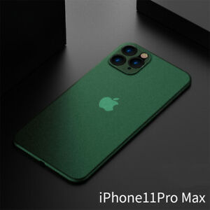 For iPhone 13 11 12 Pro MAX XS 8 7 Ultra-thin Slim Matte Hard Clear Case Cover
