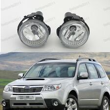 Fog Driving Light Lamps Pair LH & RH For Subaru Forester 2011-2013