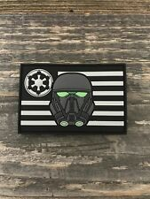 Imperial Death Trooper Flag PVC Morale Patch Parks Supply Star Wars Rogue One