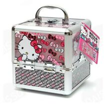 Hello kitty train cosmetics case for kids hello kitty makeup set nontoxic