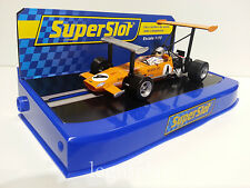 Slot SCX Scalextric Superslot S3544B McLaren M7 GP.Monaco F1-1969 Bruce McLaren