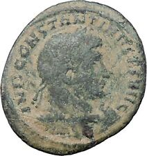Constantine I the Great  313AD Ancient Roman Coin Sol Sun God Cult  i47639