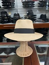 Stefeno Genuine Panama Men's Straw Hat Made In USA Size Large