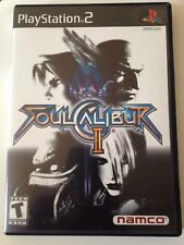 Soul Calibur II (Sony PS2, 2003) with Original Case & Manual
