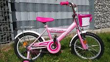 Mädchenrad Kinderrad Kinderfahrrad Mädchenfahrrad 16 Zoll Mädchen Rücktritt