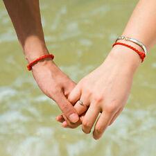 8 stk handgemachte Glück rotes Band Armband Lover Line Armband Perlen String .DE