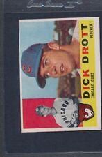 1960 Topps #027 Dick Drott Cubs EX *2693