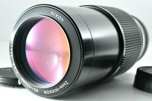 [N.Mint] Nikon Zoom-NIKKOR 80-200mm f/4.5 Telephoto MF by DHL from Japan #1170
