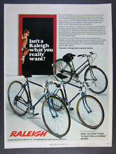 1973 Raleigh Record 10-Speeds & Sports 3-Speed Bikes Bicycles vintage print Ad