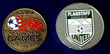 Soccer Referee Flip Coin, Flagstaff United, AYSO National Games Kalamazoo, Mi.