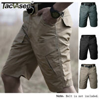 Men's Safari Cargo Shorts Tactical Expedition Sports Camo Shorts Rip-stop Pants