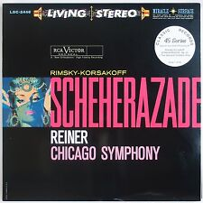 RIMSKY-KORSAKOV: Scheherazade LIVING STEREO Classic Records 45 SET  LSC-2446 LP