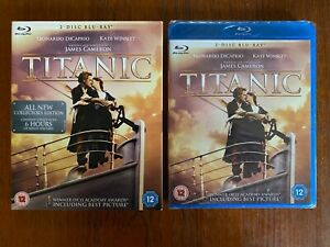 Titanic Blu-ray 2 Disc Set Region Free New & Sealed